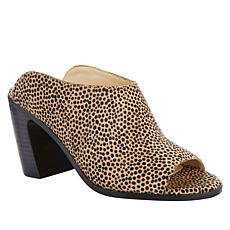 Vince Camuto Mesella Leather Block Heel Mule