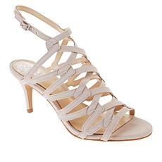Vince Camuto Phaelyn Leather Strappy Heeled Sandal