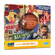 Vintage Basketball Retro Series Puzzle