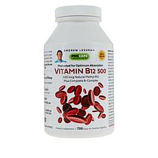Vitamin B12-500 - 720 Capsules