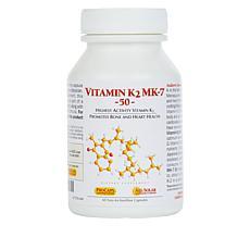 Vitamin K-2 MK-7 50 - 60 Capsules