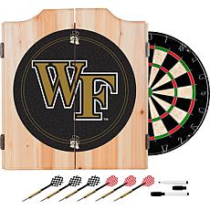 Wake Forest University Dart Cabinet with Darts & Board