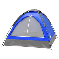 Wakeman Outdoors 2-Person Dome Tent - Blue