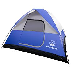 Wakeman Outdoors 6-Person 10' x 10' Water Resistant Tent