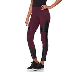 Warrior by Danica Patrick Faux Leather Paneled Legging