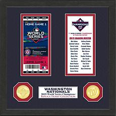 Washington Nationals 1-Time World Series Champions Ticket Collection