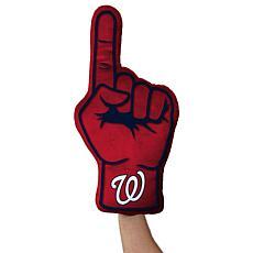 Washington Nationals Plushlete Fan Finger Pillow