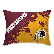 lowest price 5fcc1 f0167 Washington Redskins Splatter Print Plush 20x26