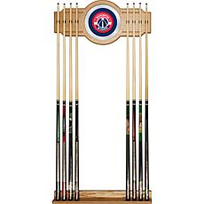Washington Wizards NBA Billiard Cue Rack with Mirror