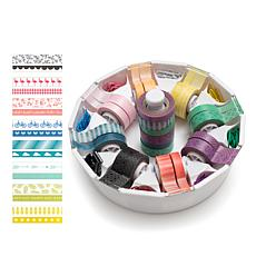 We R Memory Keepers 16pc Washi Tape w/Dispenser Set