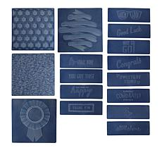 We R Memory Keepers 3D Embossing Folders