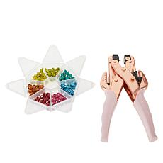 We R Memory Keepers Rose Gold Crop-A-Dile Multi-Hole Punch & Eyelets
