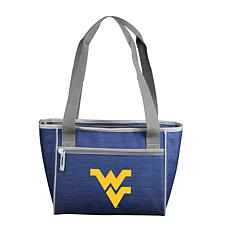 West Virginia Crosshatch 16-Can Cooler Tote