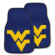 West Virginia University Carpet Car Mat Set - 2 Pieces