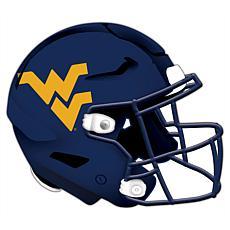 West Virginia University Helmet Cutout