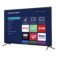 "Westinghouse 65"" 4K UHD Smart TV with Built-In Roku & 2-Year Warranty"