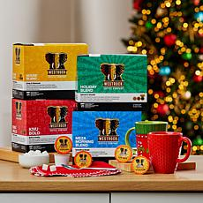 Westrock® Coffee Company Holiday Brew Box 100-count Variety Combo
