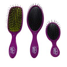 Wet Brush Detangle and Shine 3-piece Set - Purple