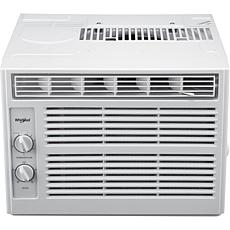 Whirlpool 5,000 BTU 115V Window-Mounted Air Conditioner