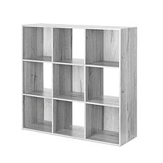Whitmor 9-Section Cube Organizer - Gray