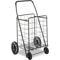 Whitmor Deluxe Rolling Utility Cart - Black