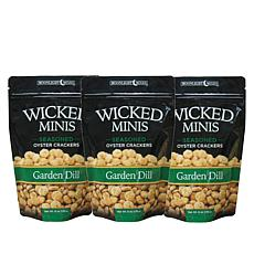 Wicked Minis 3-pack Garden Dill Mini Crackers
