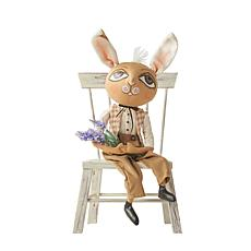 Wilbur Woodland Rabbit Gathered Traditions Art Doll