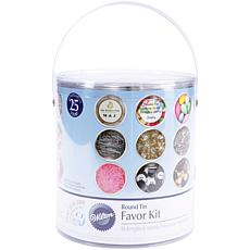 Wilton 25-pack Favor Tin Kit - Silver