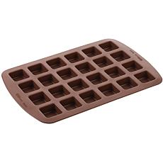 Wilton Brownie Pops Silicone Mold-24 Cavity Square