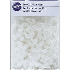 Wilton Decor Petals - 300-pack White Stephanotis