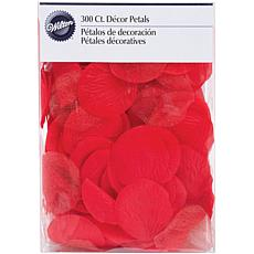 Wilton Fabric and Organza Petals - 300-pack Red