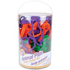 Wilton Plastic Cookie Cutters - Animal Pals