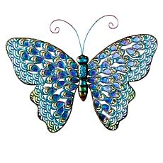 Wind and Weather Metal Butterfly Wall Art
