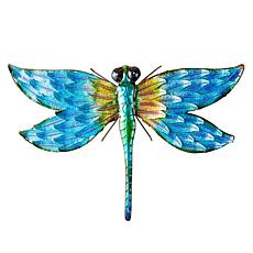 Wind and Weather Metal Dragonfly Wall Art