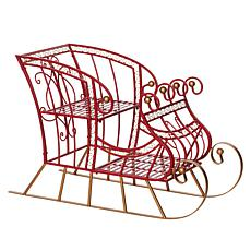 Wind and Weather Metal Indoor Outdoor Sleigh