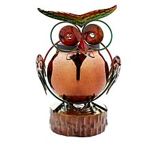 Wind and Weather Solar 3D Owl Statue