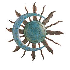 Wind and Weather Sun and Moon Bronze Wall Art