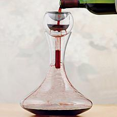 Wine Enthusiast Aerator and Decanter Flavor Enhancer