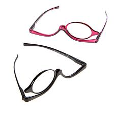 Winkz Magnifying Eye Makeup Glasses 2-pack