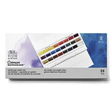 Winsor and Newton Cotman Water Color Field Box - Set of 24