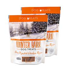 Winter Bark Oven Roasted Chicken Recipe Dog Treats 2 Pack 5 oz