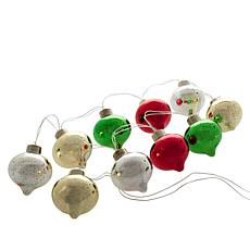 Winter Lane 3D Vintage Christmas String Lights