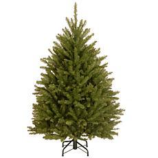 Winter Lane 4-1/2 Dunhill Fir Hinged Tree