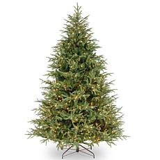 "Winter Lane 7-1/2' Fraser ""Feel-Real"" Grande Tree w/Lights"