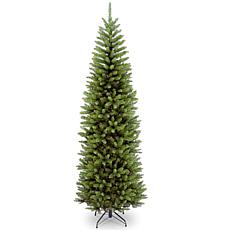 Winter Lane 7-1/2' Kingswood Fir Hinged Pencil Tree