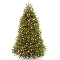 Winter Lane 7' Dunhill Fir Hinged Tree with Lights
