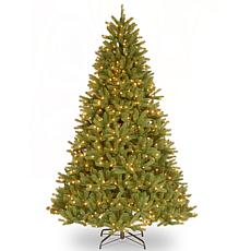 "Winter Lane 9' Grande Fir ""Feel-Real"" Tree w/Lights"