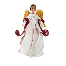 Winter Lane Angel in Ivory Dress