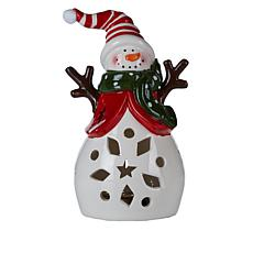 Winter Lane LED Candle Figurine