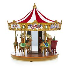 Winter Lane Very Merry Carousel